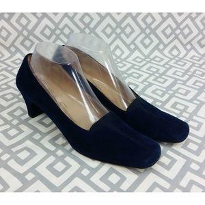 Salvatore Ferragamo Suede Pumps Heels Shoes 8.5 AA